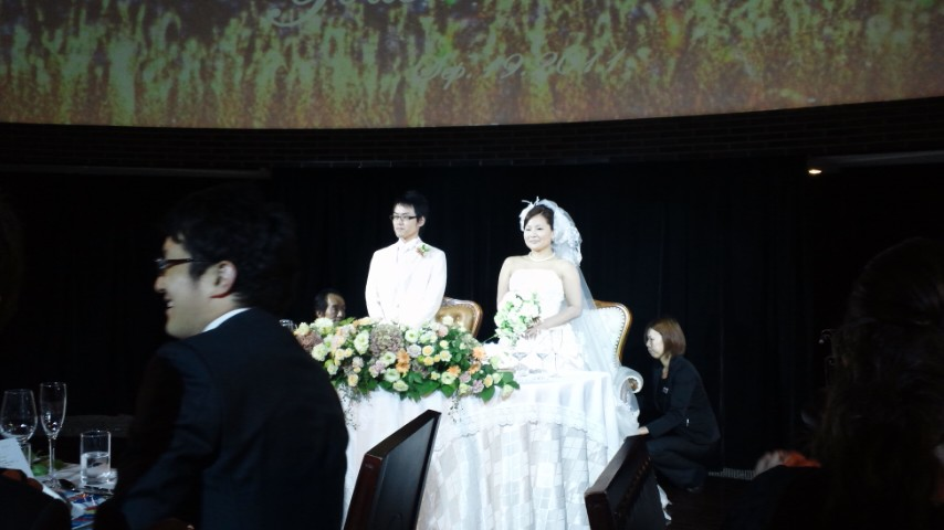 梨江結婚式